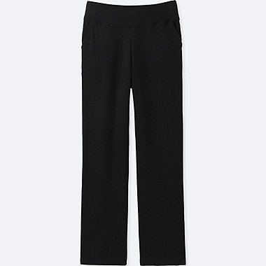 WOMEN ULTRA STRETCH LOUNGE PANTS, BLACK, medium