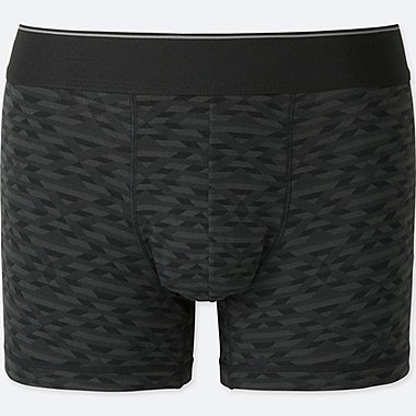 MEN SUPIMA® COTTON LOW-RISE BOXER BRIEFS, BLACK, medium