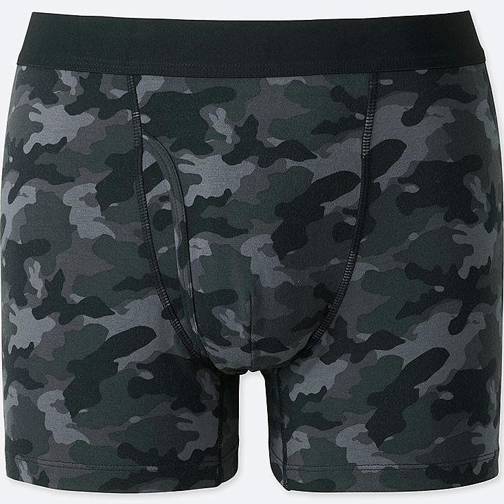 MEN SUPIMA COTTON PRINTED BOXER TRUNKS
