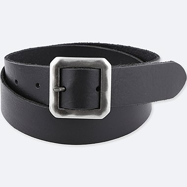 MEN ITALIAN LEATHER GARRISON BELT