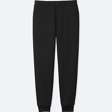 WOMEN DRY STRETCH SWEAT PANTS, BLACK, medium