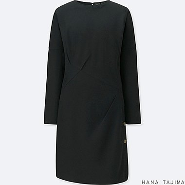 WOMEN HANA TAJIMA TUCK LONG SLEEVE TUNIC