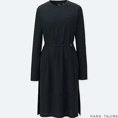 WOMEN HANA TAJIMA BELTED LONG SLEEVE TUNIC