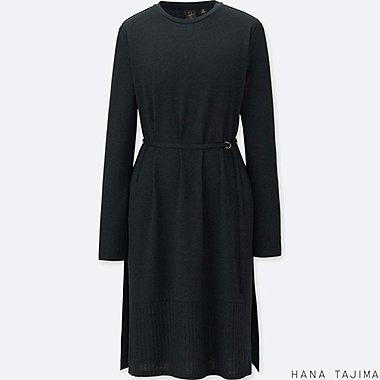 WOMEN HANA TAJIMA BELTED TUNIC LONG SLEEVE T-SHIRT