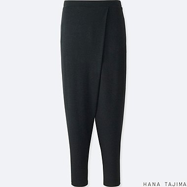 WOMEN HANA TAJIMA WRAP RELAXED ANKLE LENGTH PANTS