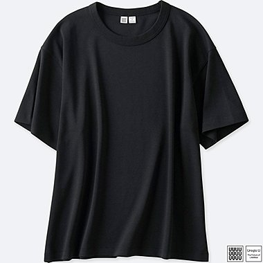 WOMEN UNIQLO U OVERSIZED CREW NECK T-SHIRT