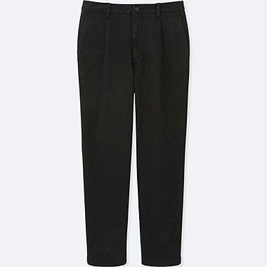 MEN WIDE FIT CHINO TROUSERS