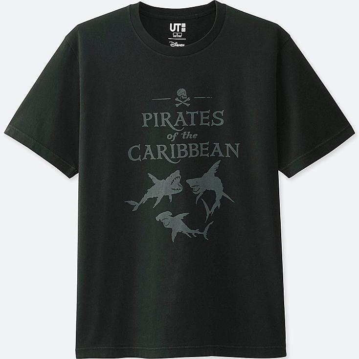 Pirates Of The Caribbean Graphic T-Shirt, BLACK, large