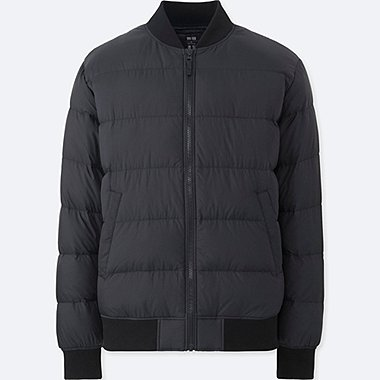 MEN ULTRA LIGHT DOWN RIBBED BLOUSON