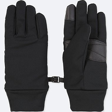 WOMEN FUNCTION GLOVES, BLACK, medium