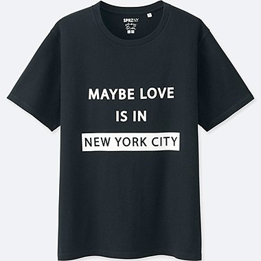 T-SHIRT SPRZ New York Poetry MANCHES COURTES FEMME