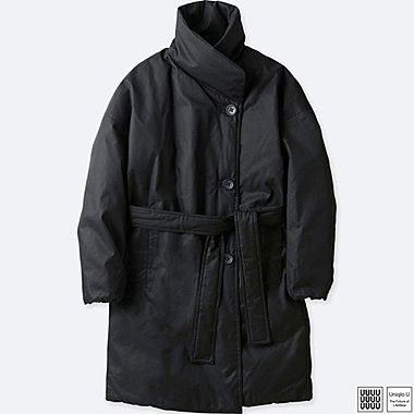 WOMEN UNIQLO U REVERSIBLE DOWN COAT