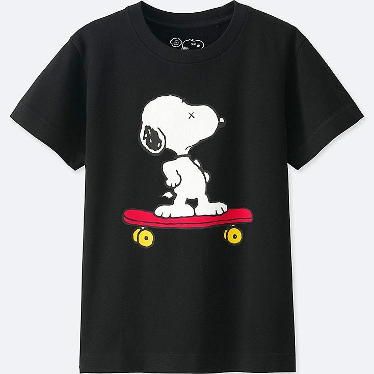 T-Shirt Graphique KAWS X PEANUTS ENFANT