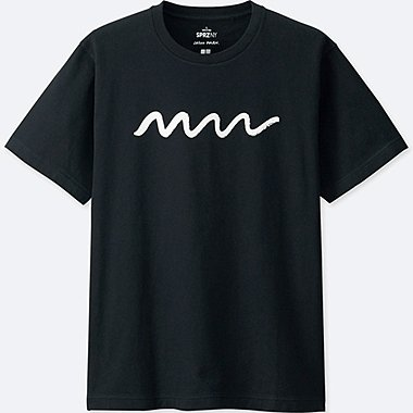 MEN SPRZ NY Short Sleeve Graphic T-Shirt (JASON POLAN), BLACK, medium