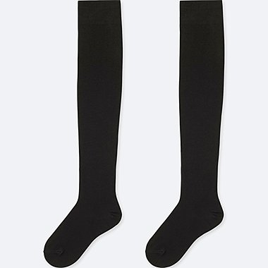 WOMEN HEATTECH OVER-THE-KNEE SOCKS (2 PAIRS)