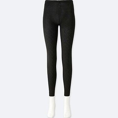 WOMEN HEATTECH KNITTED LEGGINGS