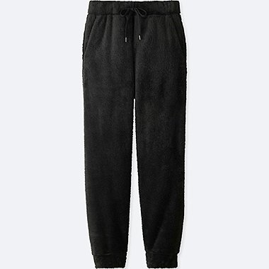men fleece easy pants
