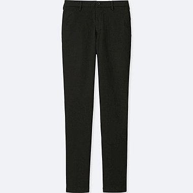 MEN ULTRA STRETCH SKINNY CHINO FLAT-FRONT PANTS, BLACK, medium