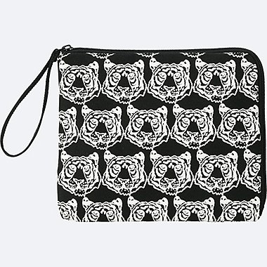 SPRZ NY POUCH (Jason Polan), BLACK, medium