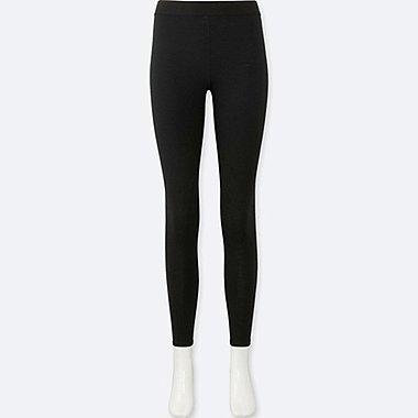 WOMEN WOOL BLENDED LEGGINGS