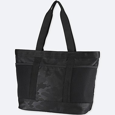 SPORTS TOTE BAG, BLACK, medium