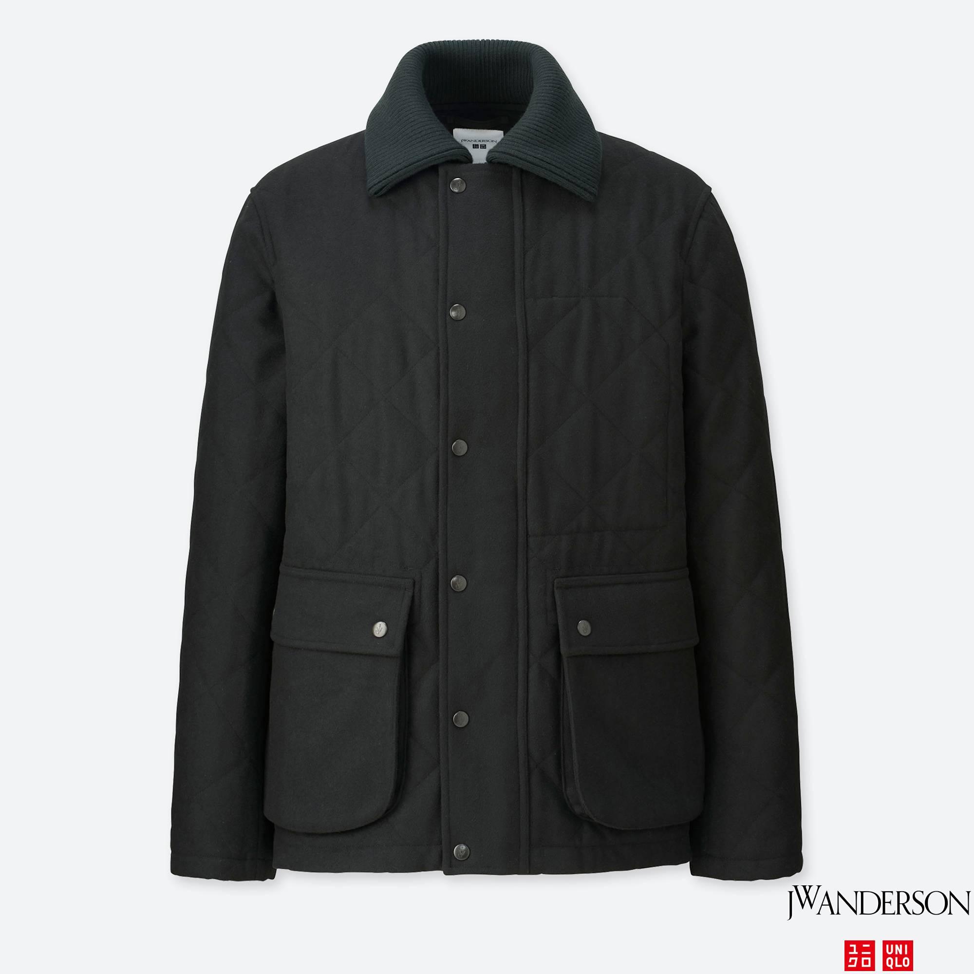 MEN JWA WOOL-BLEND QUILTED JACKET | UNIQLO US : men quilted coat - Adamdwight.com