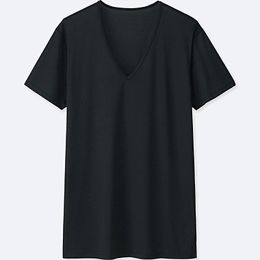 MEN AIRISM MESH V NECK T-SHIRT