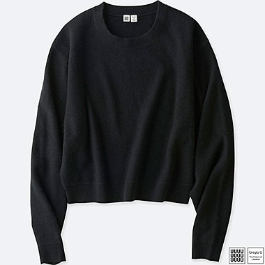 WOMEN UNIQLO U SOFT LAMBSWOOL CREW NECK SWEATER