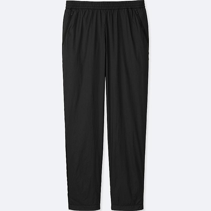 MEN FLEECE LINED RELAXED TROUSERS
