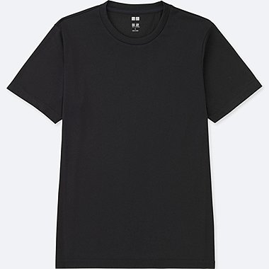 MEN DRY-EX CREW NECK SHORT SLEEVE T-SHIRT