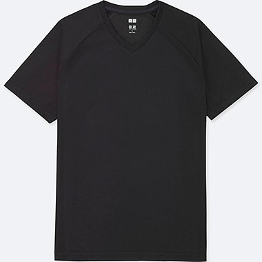 MEN DRY-EX V NECK SHORT SLEEVE T-SHIRT
