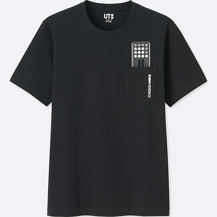 THE BRANDS SHORT-SLEEVE GRAPHIC T-SHIRT (CASIO), BLACK, large