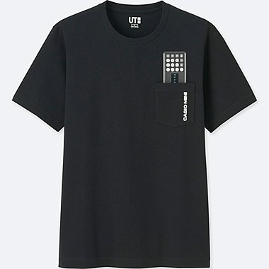 THE BRANDS SHORT-SLEEVE GRAPHIC T-SHIRT (CASIO), BLACK, medium