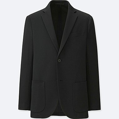 MEN COMFORT JACKET, BLACK, medium