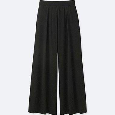 WOMEN Jersey Flare Trousers