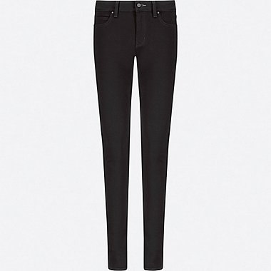 WOMEN ULTRA STRETCH JEANS, BLACK, medium