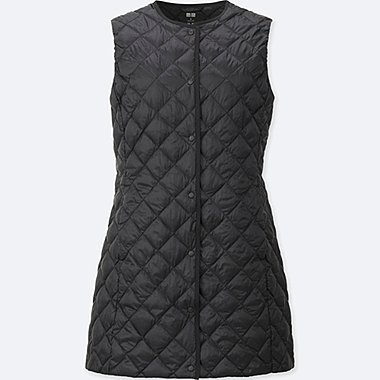 WOMEN ULTRA LIGHT DOWN COMPACT LONG VEST