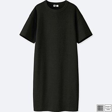 Damen U 100% Baumwoll Kleid (T-Form)