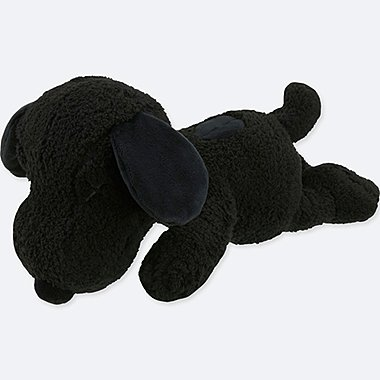 KAWS X PEANUTS TOY, BLACK, medium