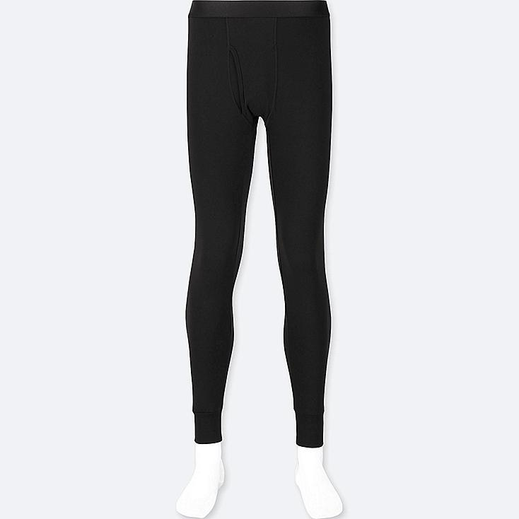 MEN HEATTECH EXTRA WARM LONG JOHNS, BLACK, large