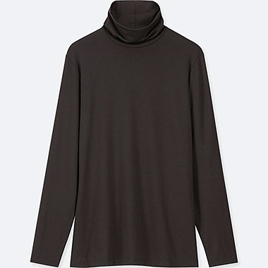 WOMEN HEATTECH JERSEY TURTLENECK LONG SLEEVED T-SHIRT