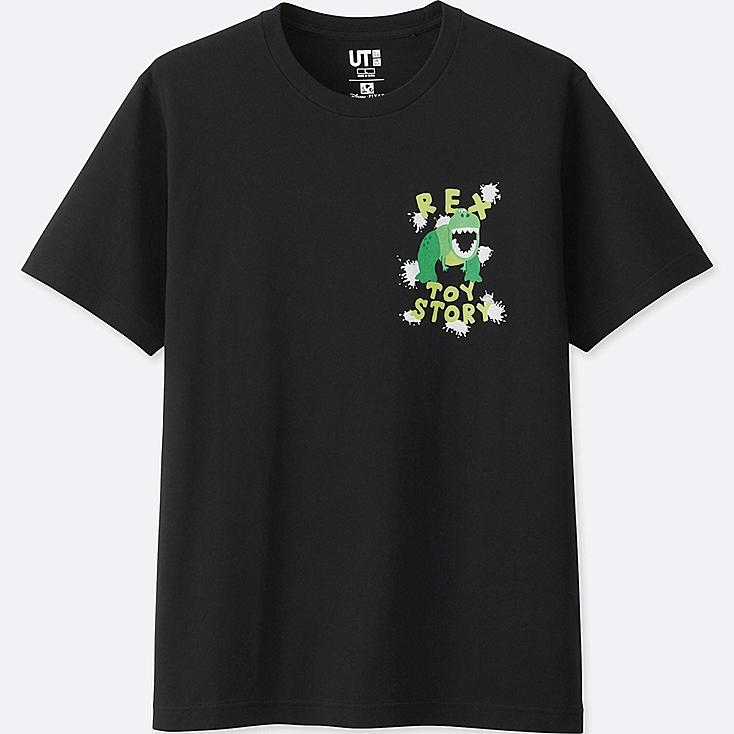 COLOR OF PIXAR SHORT SLEEVE GRAPHIC T-SHIRT (TOY STORY), BLACK, large