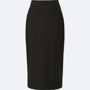 WOMEN PONTE PENCIL SKIRT