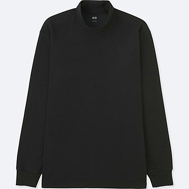 T-SHIRT SOFT-TOUCH COL MONTANT MANCHES LONGUES HOMME
