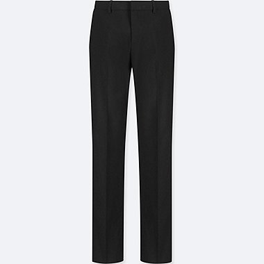 WOMEN STRETCH SET UP PANTS (ONLINE EXCLUSIVE), BLACK, medium