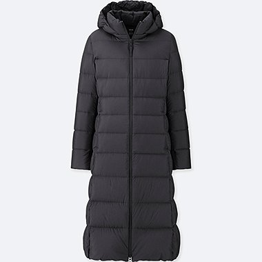 WOMEN ULTRA LIGHT DOWN LONG HOODED COAT 490ab31c1ce