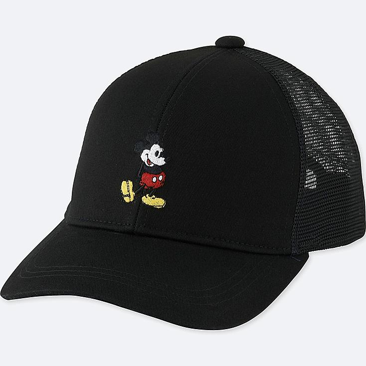 KIDS MICKEY STANDS MESH CAP, BLACK, large