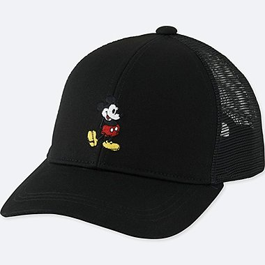 KIDS MICKEY STANDS MESH CAP, BLACK, medium