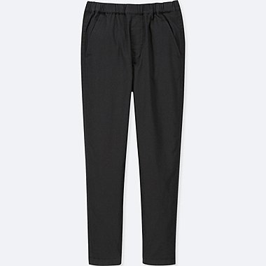 KIDS STRETCH WARM-LINED PANTS, BLACK, medium