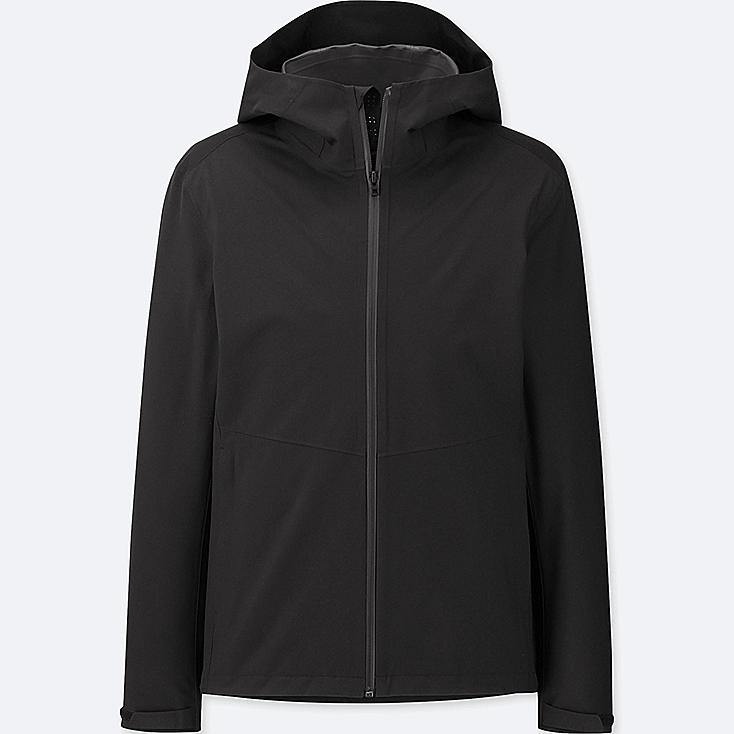 MEN BLOCKTECH PARKA, BLACK, large